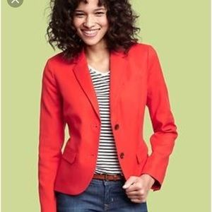 Old Navy Academy Blazer in Red